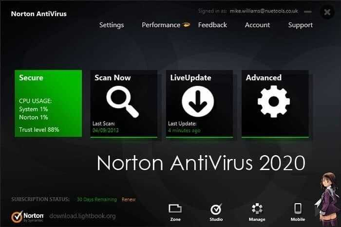 Download Norton AntiVirus 2021 Protect Your PC & Mobile