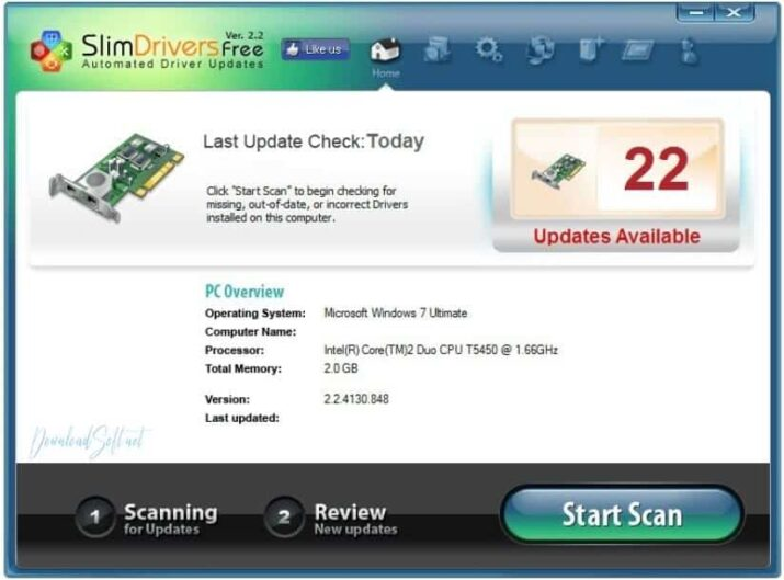 Download SlimDrivers 2020 Free Drivers Updater Tools for PC