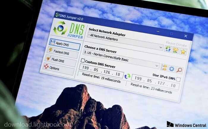 Télécharger DNS Jumper 2019 Pour Tous Systèmes Windows Gratuit