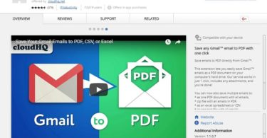 Download Save Emails to PDF 1.1.0.7 for Chrome Latest Version 2018