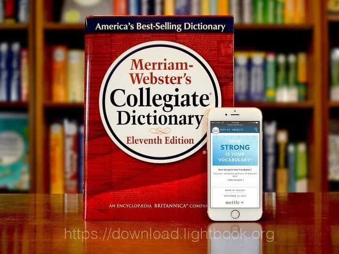 Télécharger Merriam Webster Dictionary pour Android et iPhone