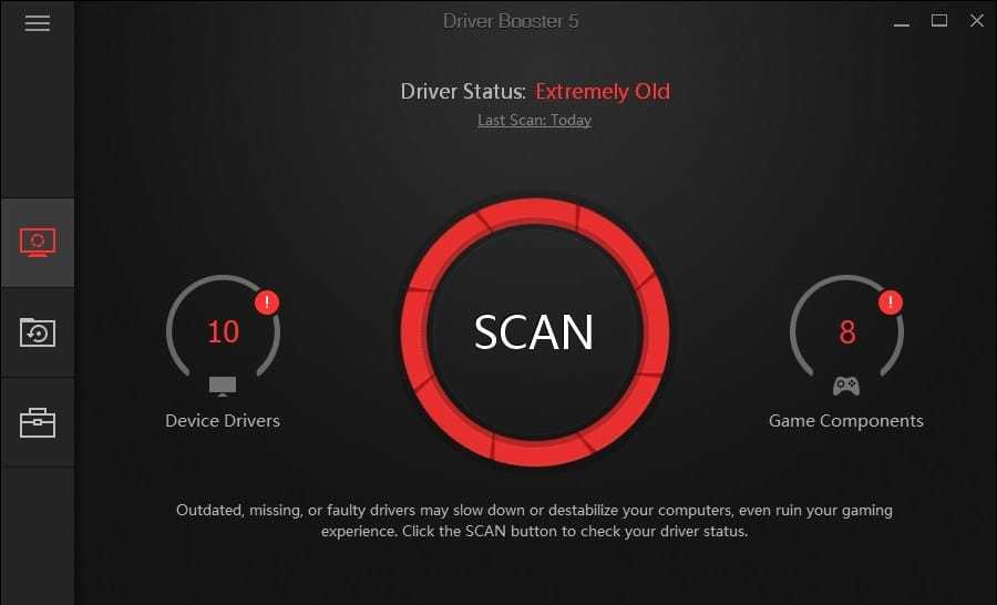 Download Driver Booster 2019 Update Device Definitions