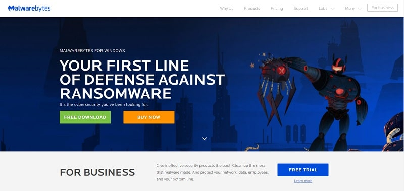 Download Malwarebytes Anti-Malware Free 2019 for PC and Mobile