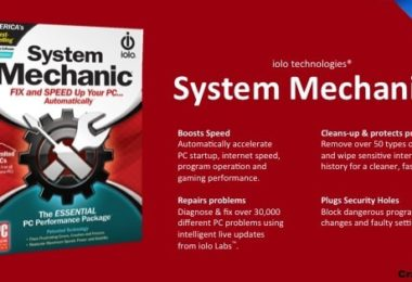 Download System Mechanic 2018 for Maintenance PC Free Latest Version
