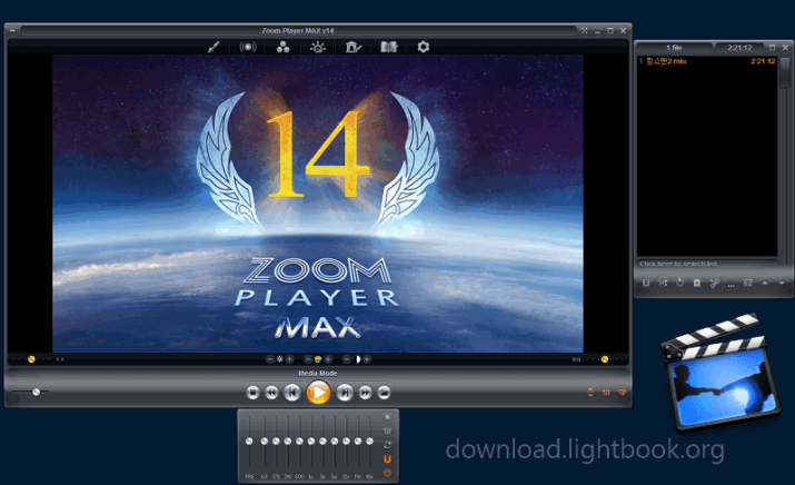 Download Zoom Player Max Free Play Videos and Audio Files