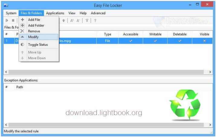 Download Easy File Locker Free Encrypt and Protect Files
