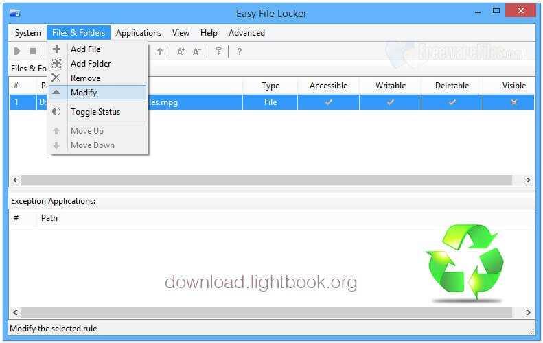 Télécharger Easy File Locker 2.2 Crypter et Protéger Les Fichiers