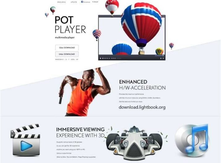 Download PotPlayer 2021 Play Video / Audio for PC and Mobile