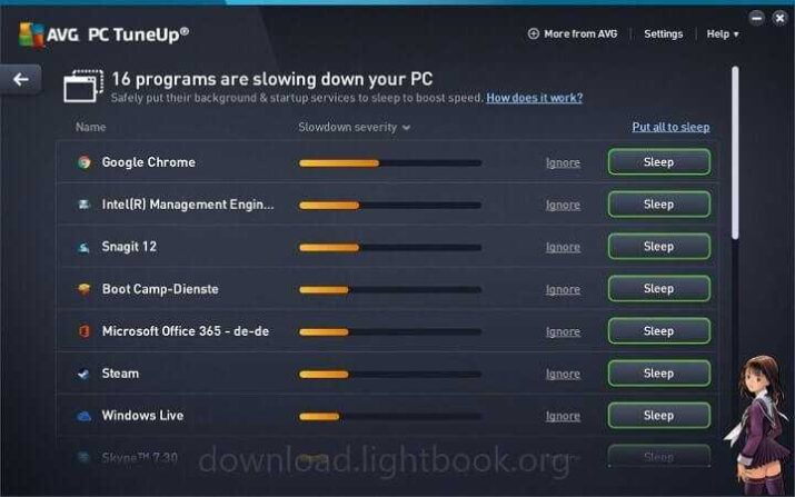 Download AVG PC TuneUp Unlimited 2021 Speed Up PC & Mobile