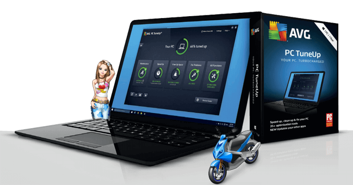 Download AVG PC TuneUp Unlimited 2019 Speed Up PC & Mobile