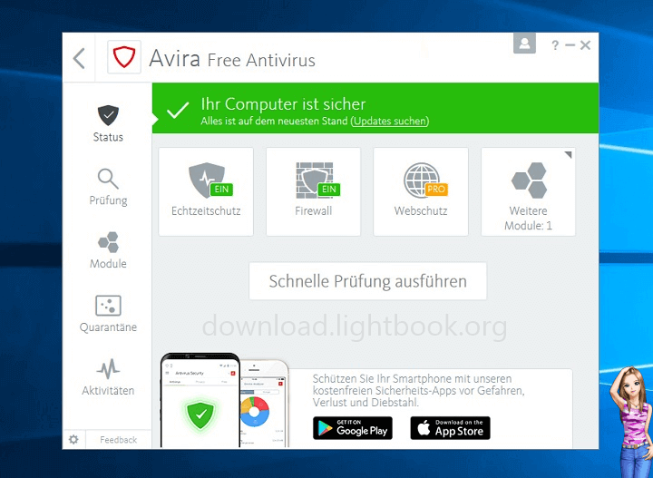 Avira Free Antivirus Download 2021 for all Operating Systems