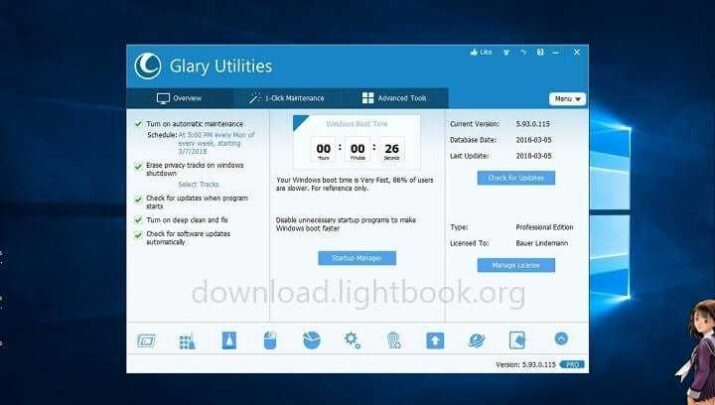 Download Glary Utilities Pro 2021 Maintain and Speed Up PC