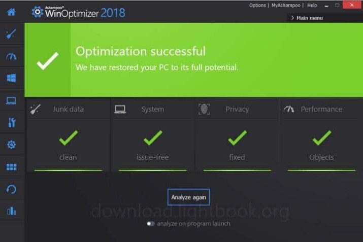Download WinOptimizer Free Improve and Repair Windows