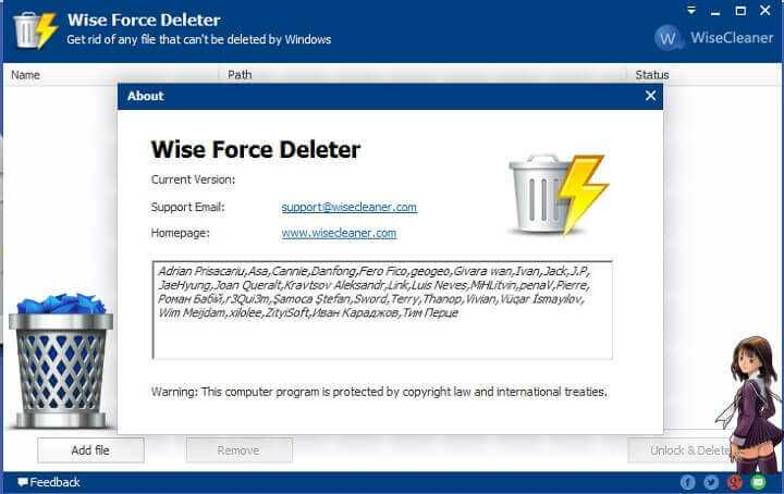 Download Wise Force Deleter to Remove Any Files From PC
