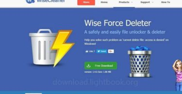Download Wise Force Deleter 1.4.6 to Remove Any Files From Windows
