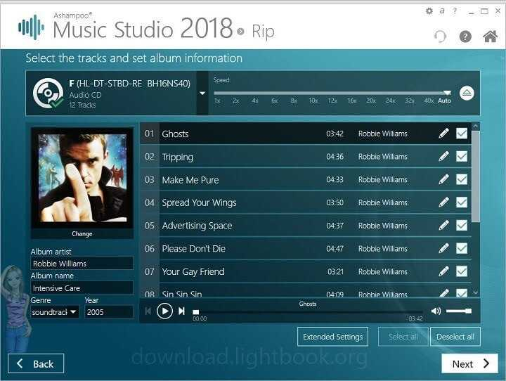 Download Ashampoo Music Studio 2019 Organize & Edit Music
