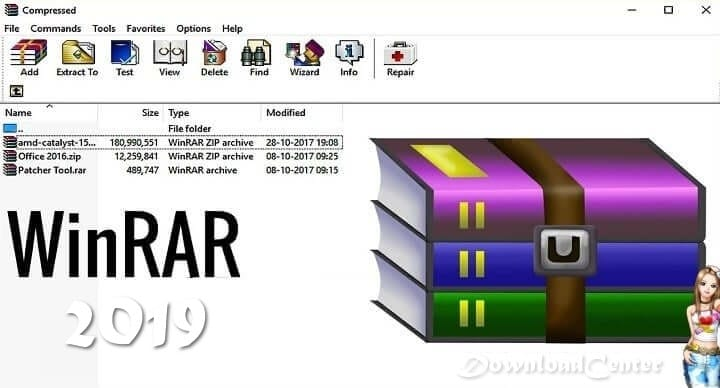 Download WinRAR 2019 Compress Files the Latest Free Version