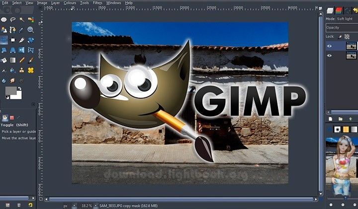 Télécharger GIMP 2019 Éditer Toutes Sortes d'images Gratuit