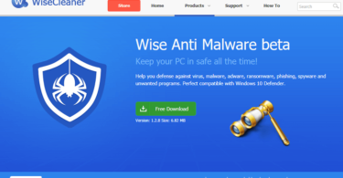 Download Wise Anti Malware beta to Protection Your Computer for Free