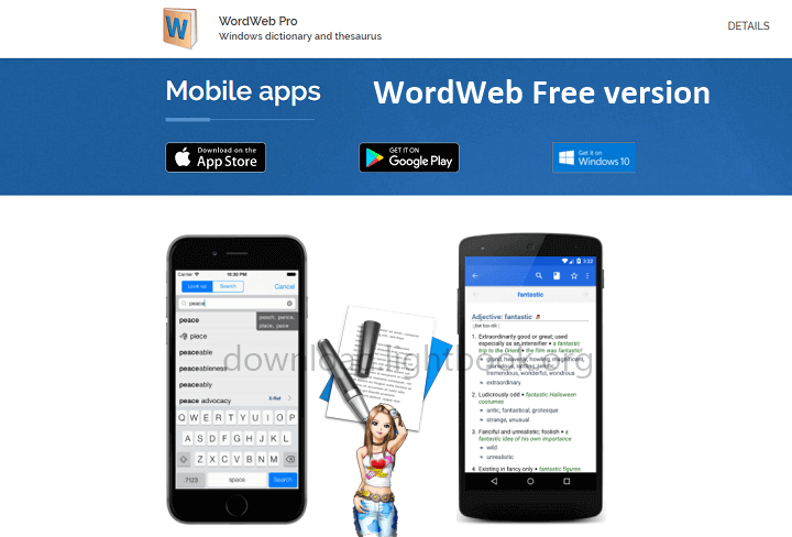 WordWeb Dictionary 2021 Free for Windows, Mac & Mobile