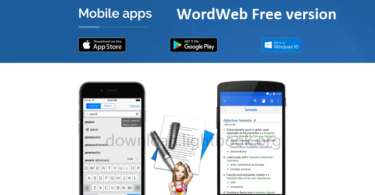 WordWeb Dictionary 2018 Free Version for Windows, Mac & Smartphones