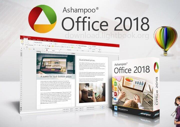 تحميل اشامبو اوفيس Ashampoo Office 2018 المنافس الأول لـ أوفيس