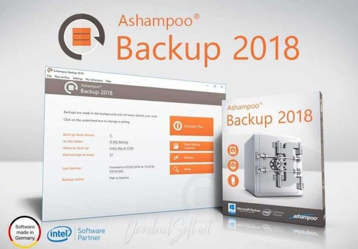 Download Ashampoo Backup - Restore and Secure PC Files Free