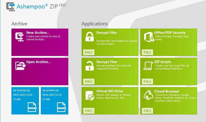 Download Ashampoo ZIP FREE 2021 Decrypt & Compress ZIP Files