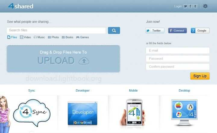 Download 4share 2019 File Storage Software for PC, Mac & Mobile