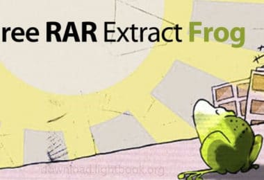 Download Free RAR Extract Frog 7.00 to Unzip and Compress Files