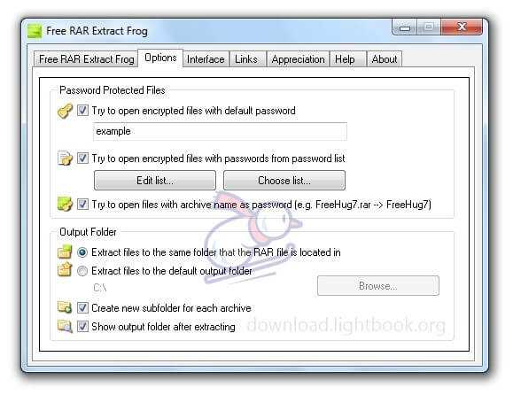 Download Free RAR Extract Frog 7.00 to Unzip & Compress Files