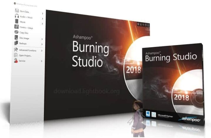 Download Ashampoo Burning Studio Burn CD/DVD and Blu-ray