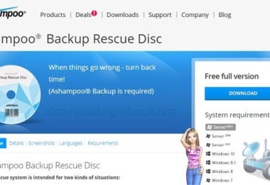 Download Ashampoo Backup Rescue Disc 2018 for Windows System
