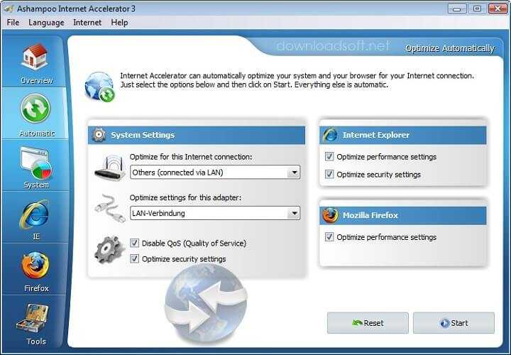 Download Ashampoo Internet Accelerator Speed Up Your Internet