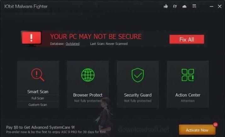 تحميل برنامج IObit Malware Fighter الجديد 2021 مجانا