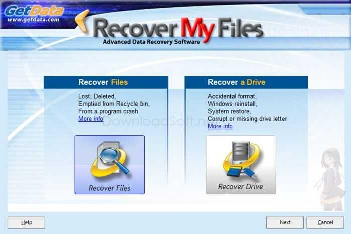 Download Recover My Files 2020 for Windows 32/64 bit