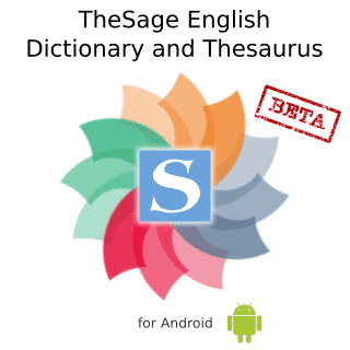 Download TheSage English Dictionary & Thesaurus 2021 Free