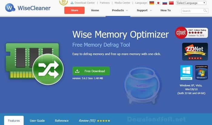 Download Wise Memory Optimizer 2020 Defrag/Free Up Memory