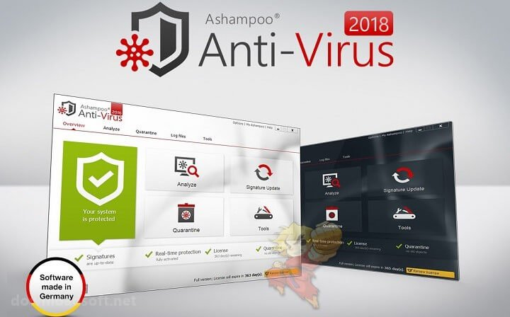 Download Ashampoo Anti-Virus 2019 Powerful Protection From Virus