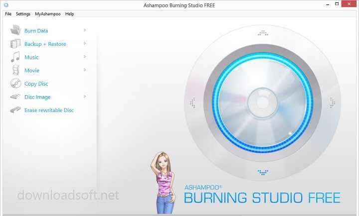 Download Ashampoo Burning Studio FREE for Windows
