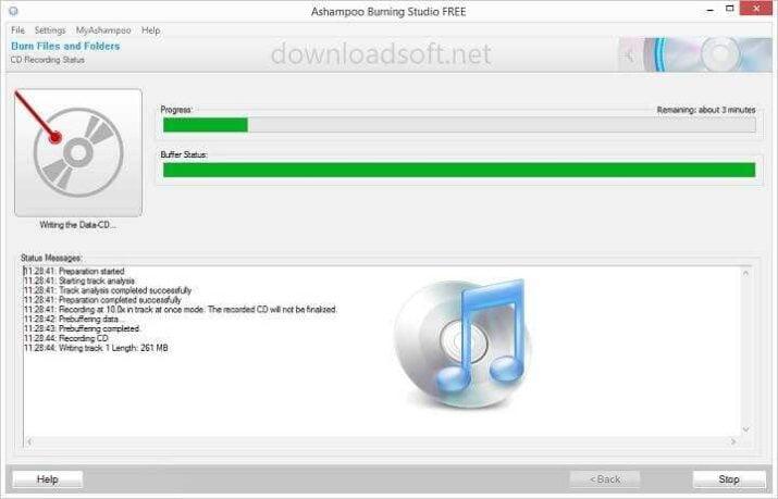 Descargar Ashampoo Burning Studio FREE - Grabar y Copiar CD