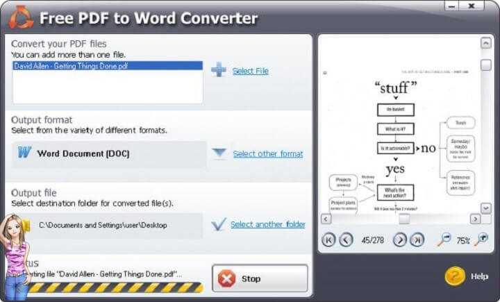 Download Free PDF To Word Converter Latest Version for Windows