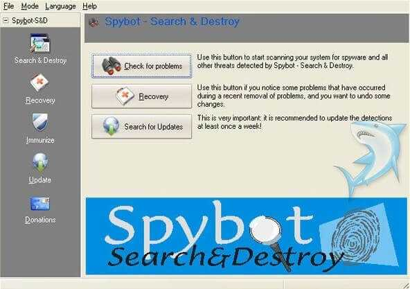 Spybot Search and Destroy Anti-malware & Antivirus ...