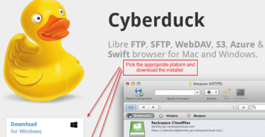Download Cyberduck Free FTP Server Protocol for Windows and Mac