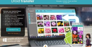 Download Droid Transfer SMS & MMS from Android to Your Computer