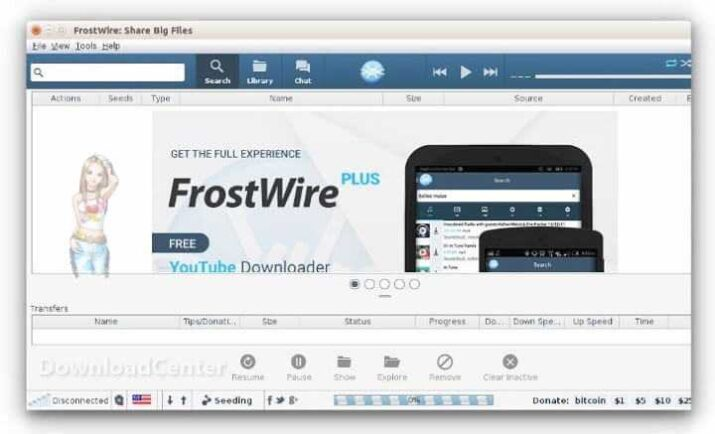 Download FrostWire Plus 2021 Share Files Software Free