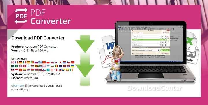 Download Icecream PDF Converter Files to PDF Quickly for Free