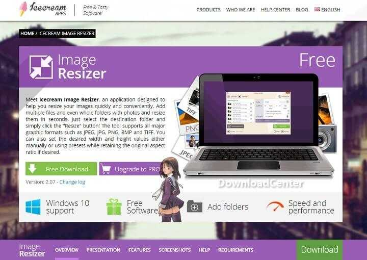 Download Icecream Image Resizer Your Images Quickly & Easily