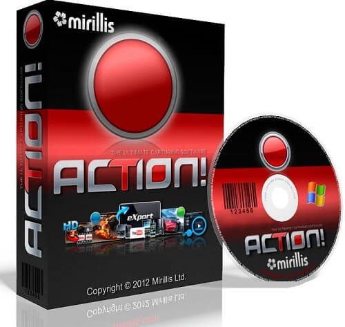 Download Mirillis Action! Screen Recorder HD Video Quality for Windows