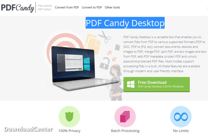 Download PDF Candy Desktop Convert PDF Files for PC and Mac